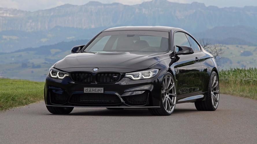 Cette BMW M4 revendique 540 ch grâce à Dähler