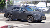 Lexus RX 3-Row Spy Shots