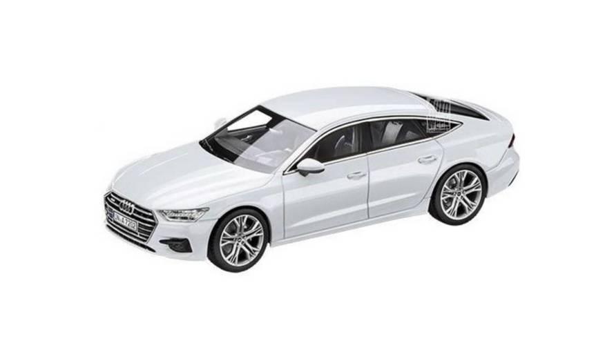 2018 Audi A7 Sportback'in tasarımı sızdırıldı