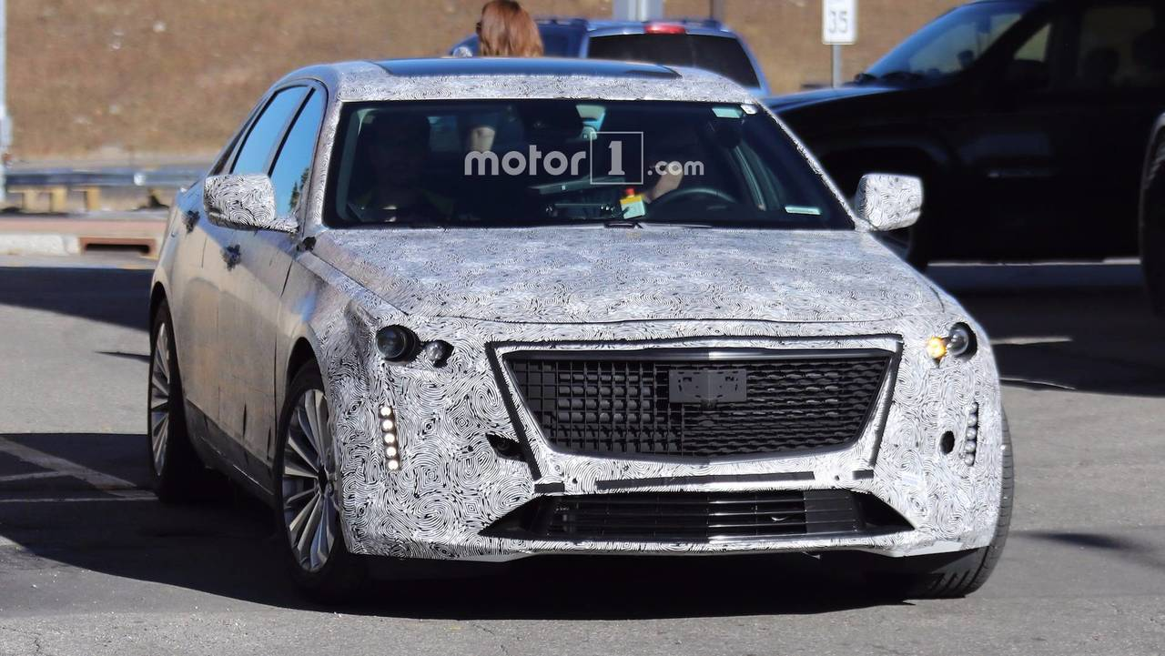 2020 Cadillac Ct5 >> 2019 Cadillac CT6 Prototype Shows Off Escala-Inspired Design Cues