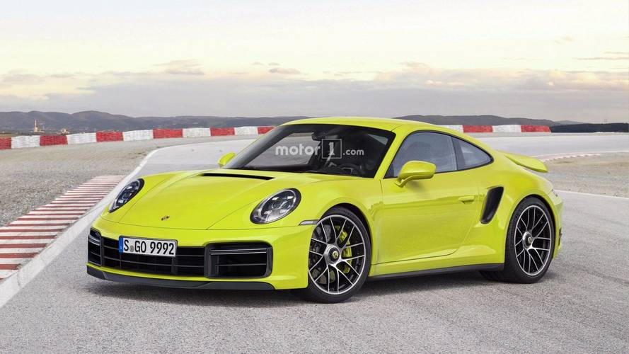 New Porsche 911 Renderings