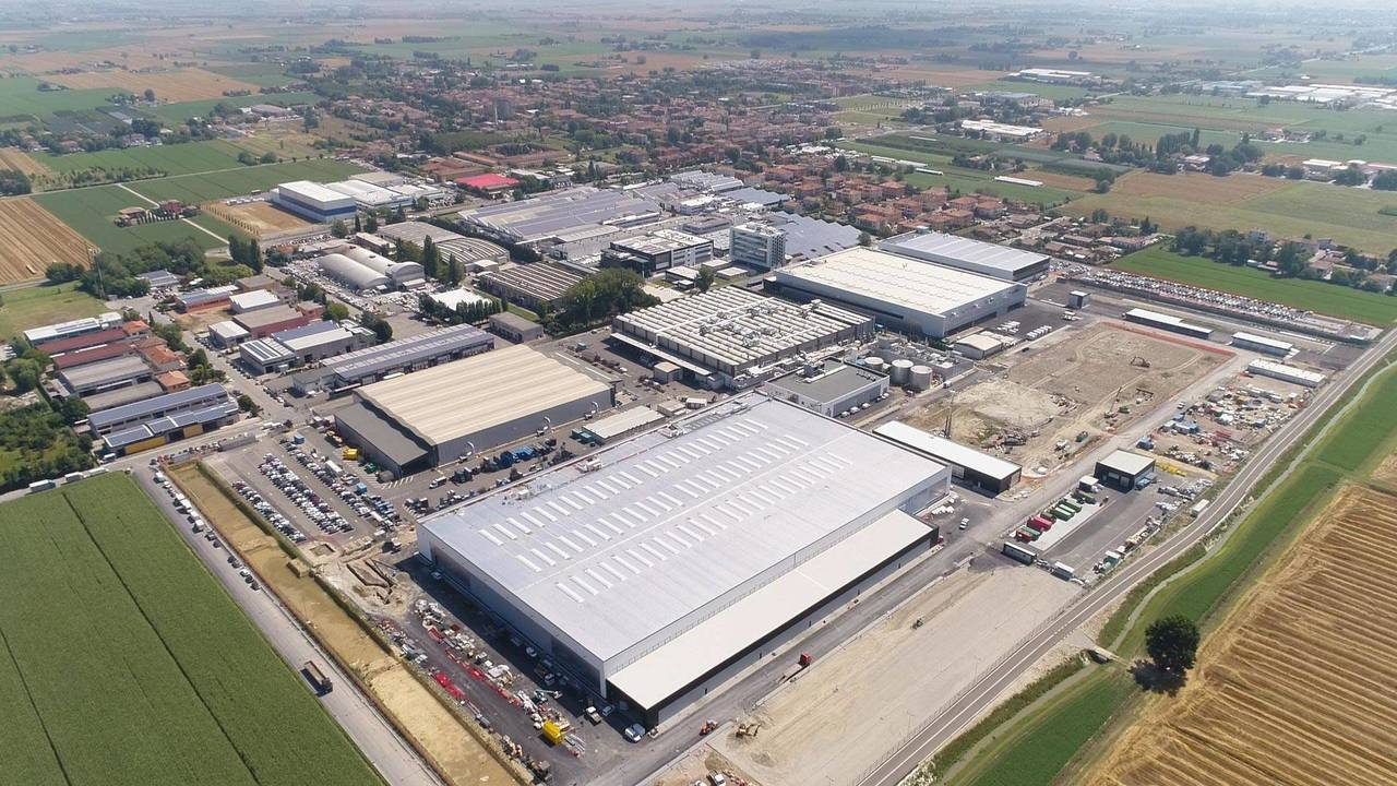 New Lamborghini Factory