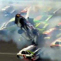 25-Car NASCAR Crash??? 25-Car NASCAR Crash.