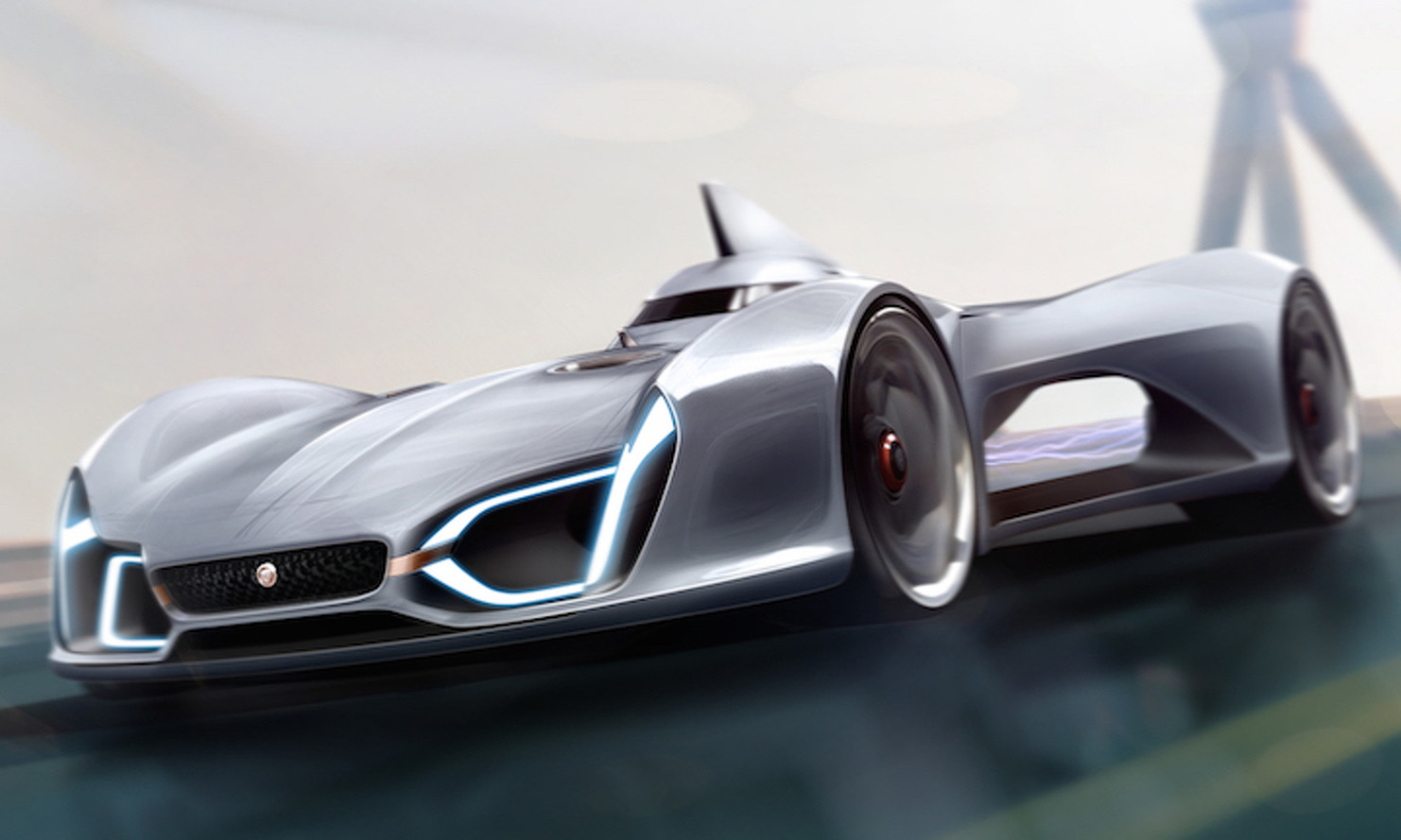 Jaguar Concept Car Pushes the Limits of Technology and Design