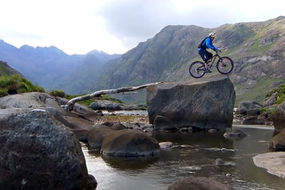 Witness a Death-Defying Scottish Mountain Bike Ride