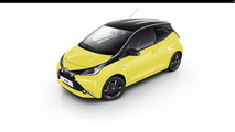 Toyota Aygo x-cite Yellow Fizz
