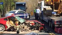 Crashed 2007 Ferrari 599