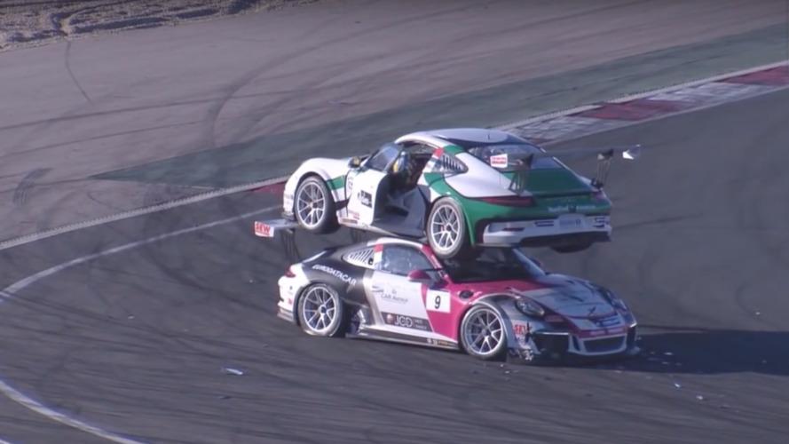 VIDÉO - Toutes ces Porsche ont fini à la casse