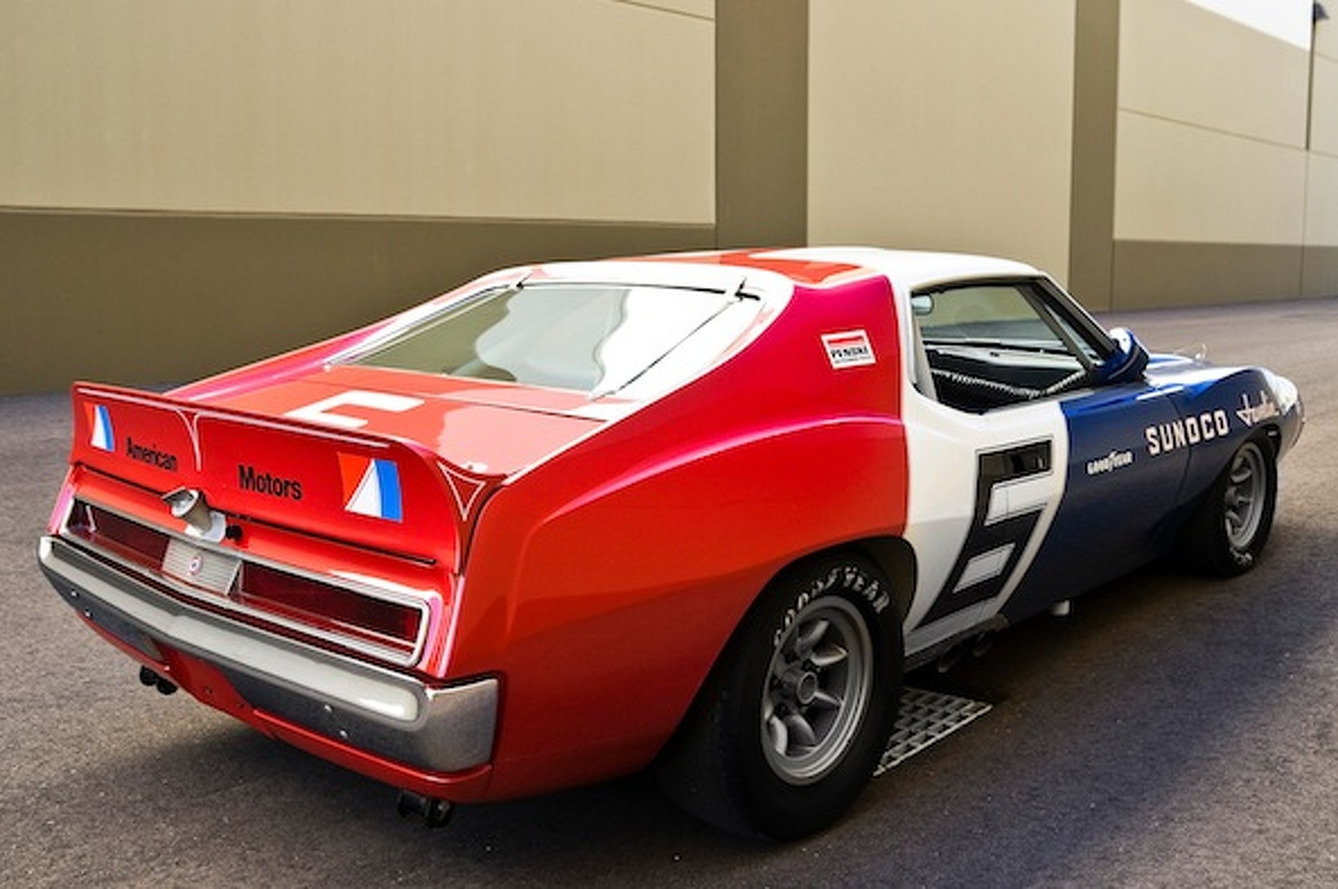 Wheels Wallpaper: AMC Javelin Trans-Am Racer