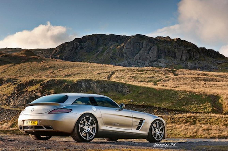 Mercedes-Benz SLS Shooting Brake is Straight Fire