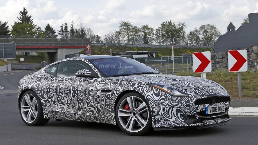 2017 Jaguar F-Type with four-cylinder engine spy photos