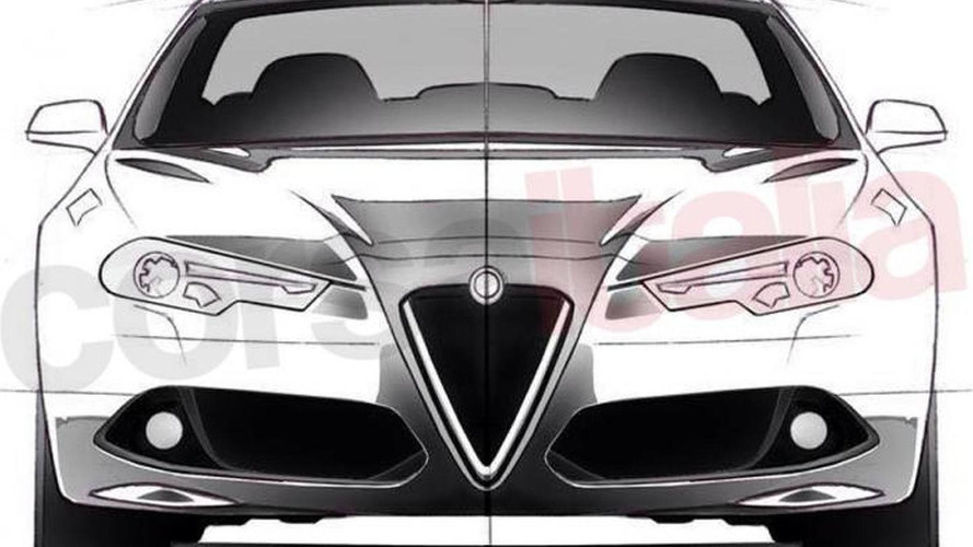 Alfa Romeo Giulia unofficial design sketches released ahead of June 24 debut