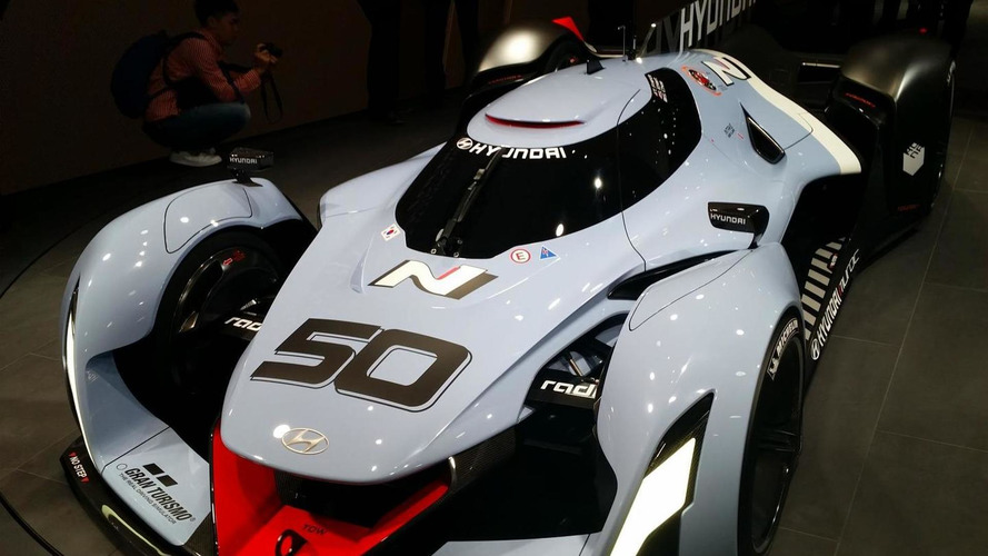 Hyundai N 2025 Vision Gran Turismo storms into IAA with 871 bhp hydrogen power