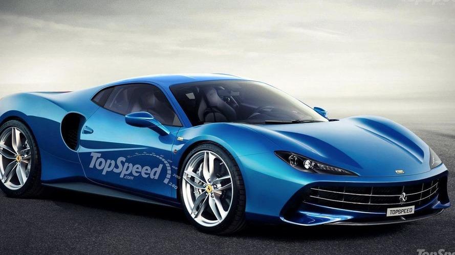 Ferrari Dino rendering previews a future entry-level model