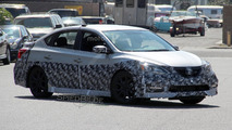 2017 Nissan Sentra NISMO spy photos