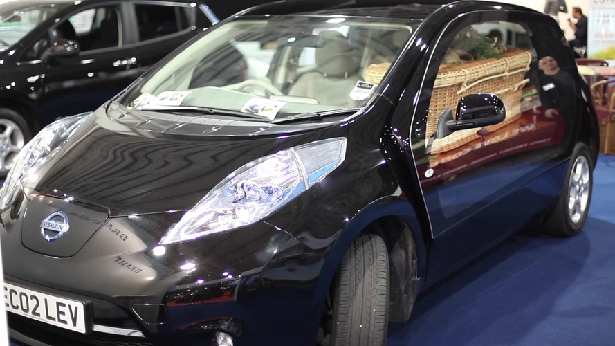 Nissan Leaf Hearse