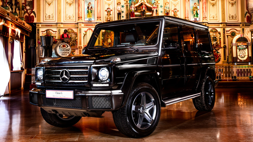 Un Mercedes Classe G très exclusif pour Paul Bocuse !