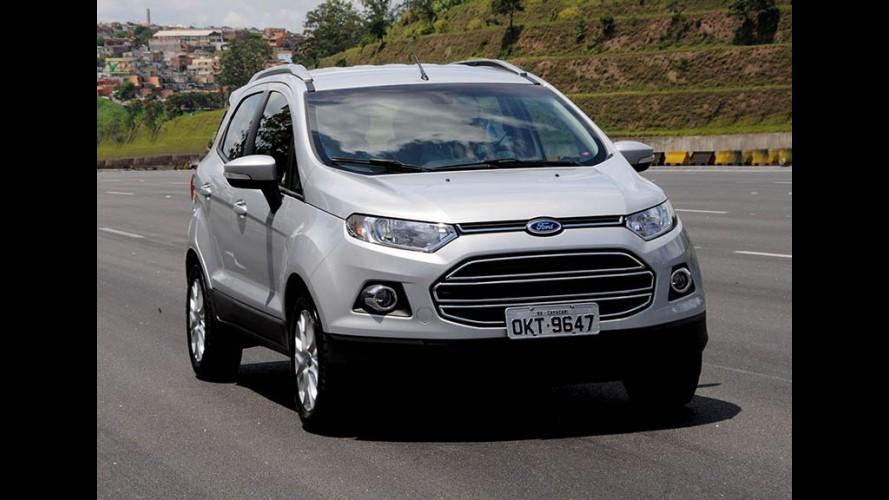 Ford EcoSport foi o SUV mais exportado do Brasil em 2015