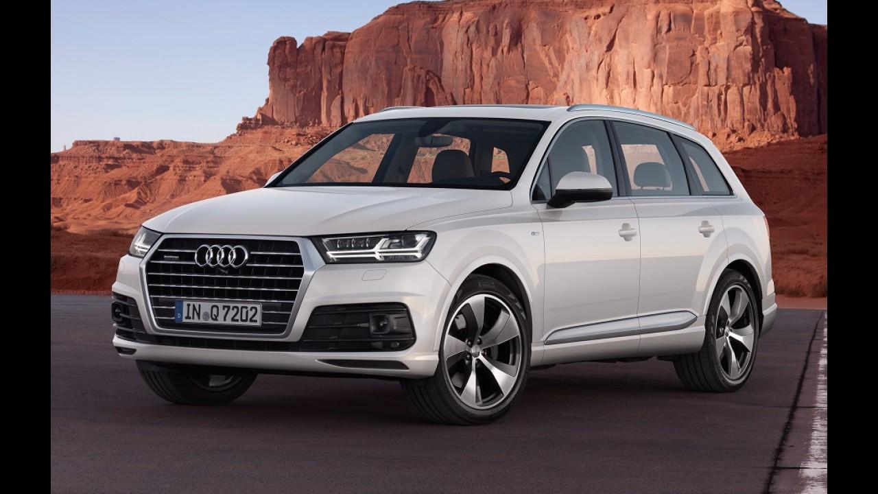 Audi confirma Q8 como rival para BMW X6 e Mercedes GLE Coupé