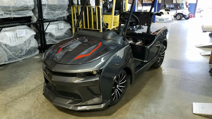 This Chevy Camaro will make you want to play golf