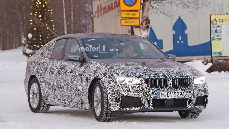 BMW 6 Serisi GT, M Sport paketini gizlerken görüntülendi
