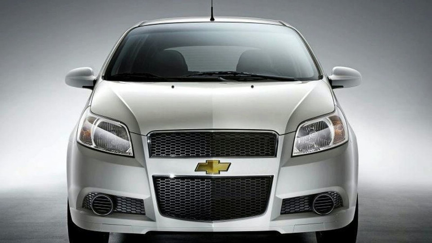 New Chevrolet Aveo Hatchback Revealed