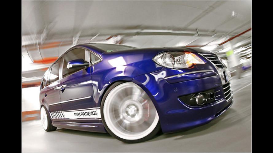MR Car Design: VW Touran wird zum Renn-Van