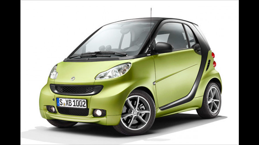 Micro-Facelift: Smart Fortwo Pulse wird kantiger