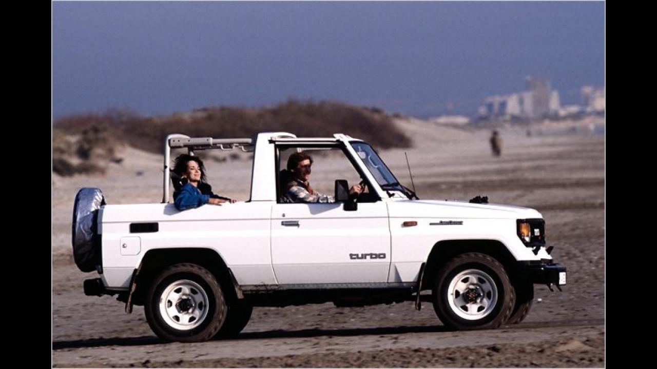 Land Cruiser Light Duty J7 (1985 bis 1996)