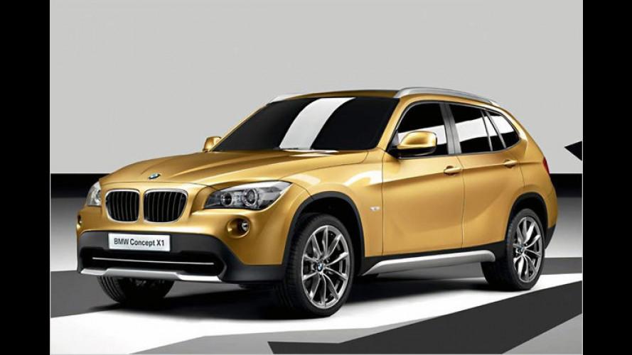 Tiguan auf bayerisch: BMW zeigt den neuen X1