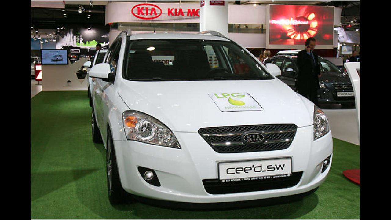 Kia Cee'd Sporty Wagon LPG