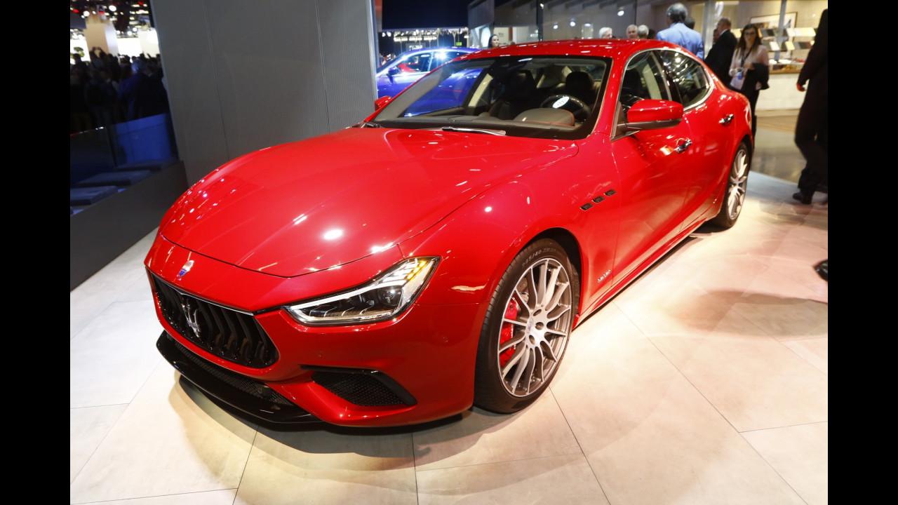 Maserati al Salone di Francoforte 2017