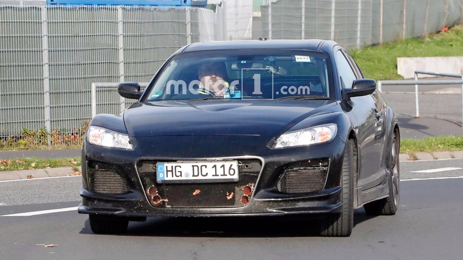 Mazda Spied Testing RX 8 Powertrain Mule For Possible RX 9