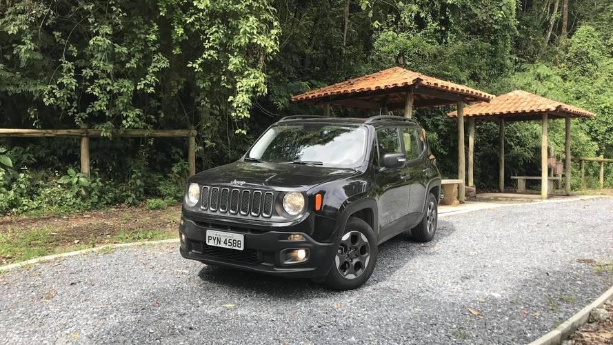 Teste instrumentado Jeep Renegade 2018 manual - Mais disso, por favor