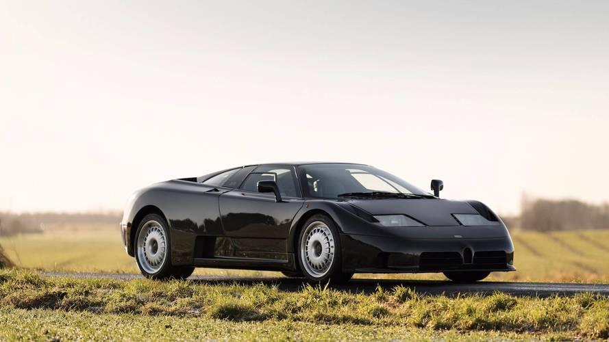 Barely Driven Bugatti EB110 GT Estimated To Auction For $950,000