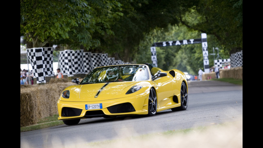 Ferrari: 59 secondi per la salita di Goodwood