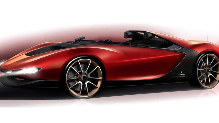 Pininfarina Sergio Tribute Speedster concept first photo published