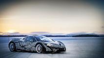 McLaren P1 winter testing photo 30.4.2013