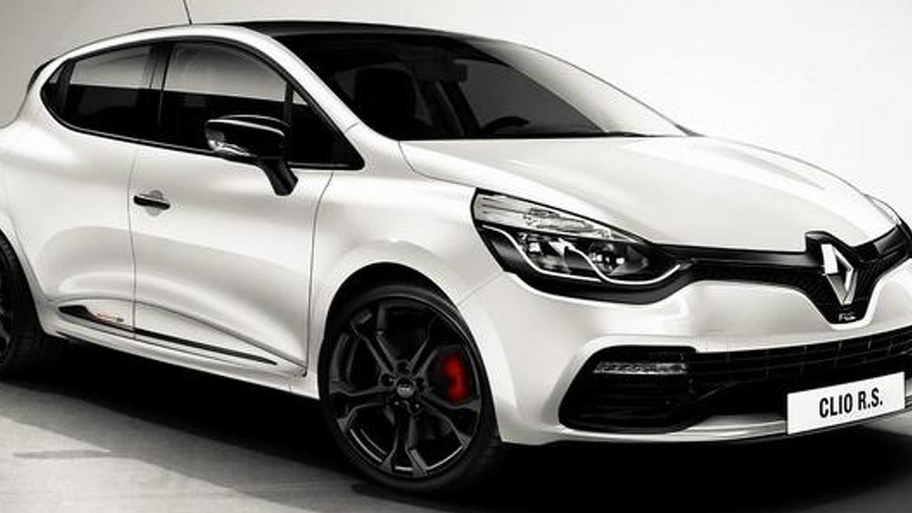 Renault Clio RS Monaco GP leaked official photo
