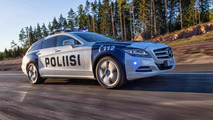 Finnish police receives Mercedes-Benz CLS Shooting Brake 350 CDI 4MATIC [video]