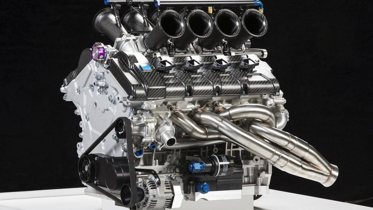 Volvo Polestar Racing V8 Supercar engine