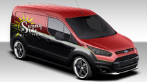Impulse Marketing Ford Transit Connect for SEMA 25.10.2013
