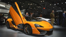 McLaren 570S Coupe at 2015 New York Auto Show