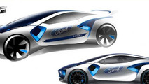 RS160 concept previews a hypothetical Ford return in WRC