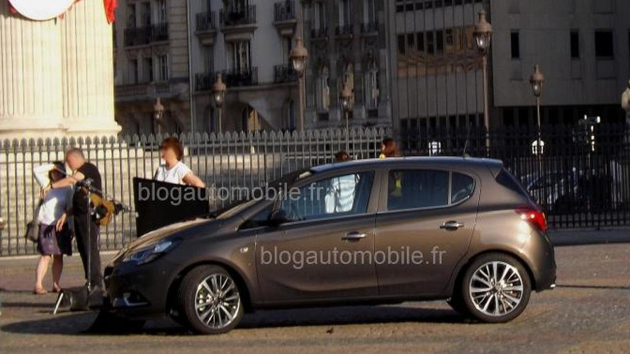 2015 Opel Corsa spotted undisguised in both three- and five-door versions