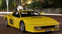 Two mint Ferrari Testarossas going up for sale