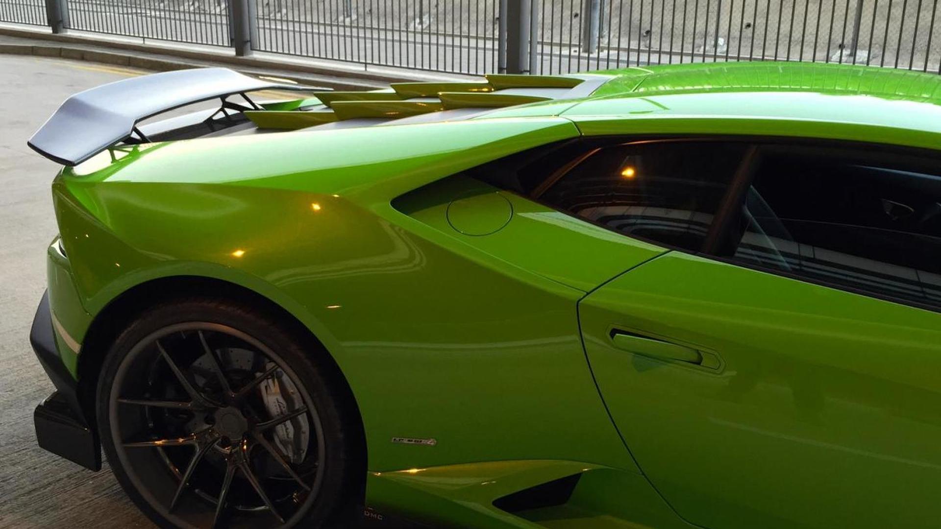 Крутой тюнинг Lamborghini Huracan Affari от DMC