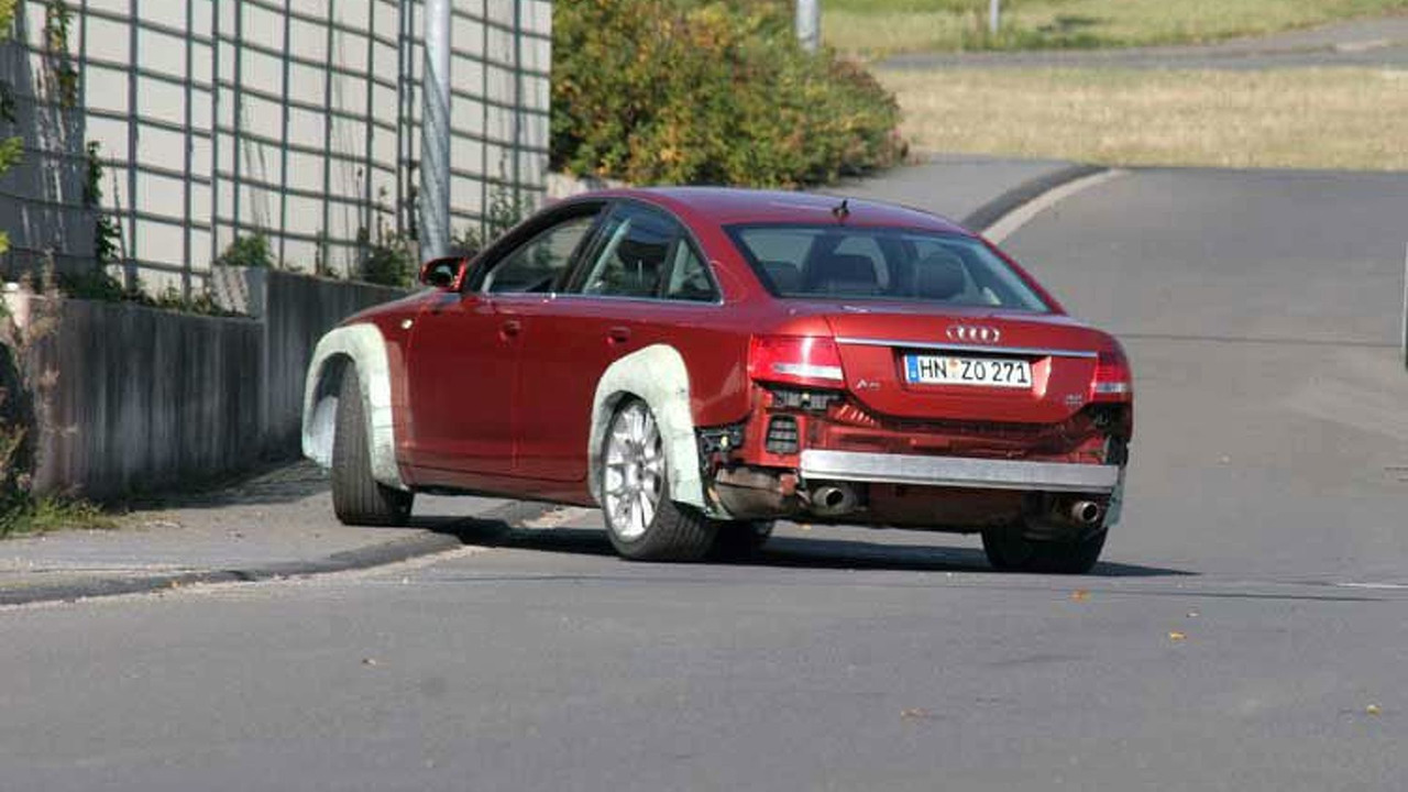 New Audi RS 6 Spy Photos