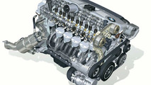 BMW 6 cylinder petrol engine with VALVETRONIC