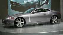 Jaguar XKR at British Motor Show